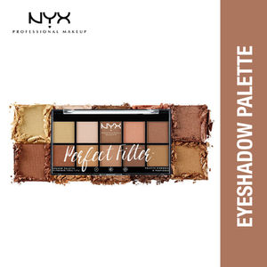 NYX Professional Makeup Perfect Filter Eyeshadow Palette - Golden Hour