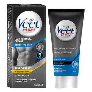 Veet Hair Removal Cream For Men Sensitive Skin Buy Veet Hair