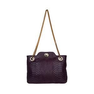 sold worldwide up-to-datestyling modern design Hidesign Sb Aliya 01 Purple Ladies Tote