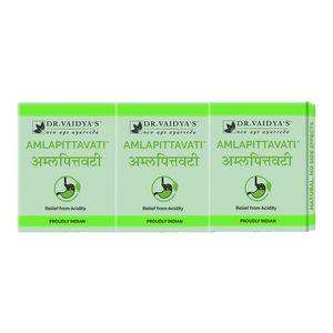 Dr  Vaidya's Amlapittavati Pills Pack of 3 - Hyperacidity