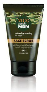 Vlcc Ayush Men Face Scrub Buy Vlcc Ayush Men Face Scrub Online At