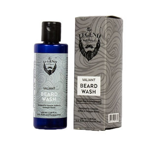 The Legend Valiant Beard Wash