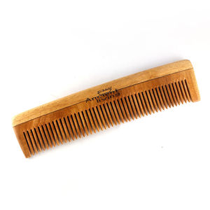 Ancient Living Neem Wood Comb Single Teeth