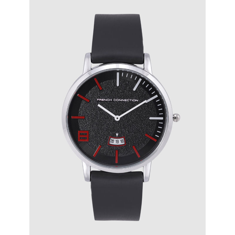 French Connection Men Black Analogue Watch   FCN0003B