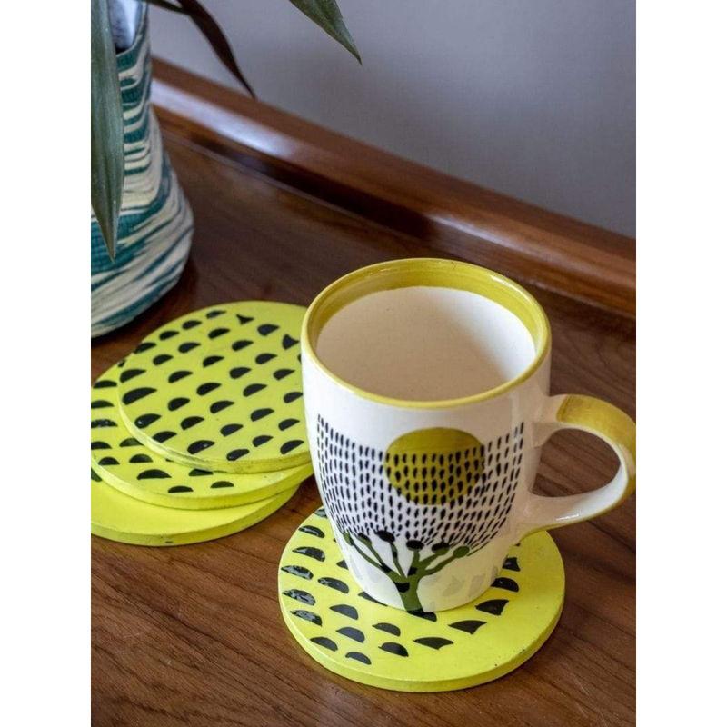Freedom Tree Yellow Senhur Coaster