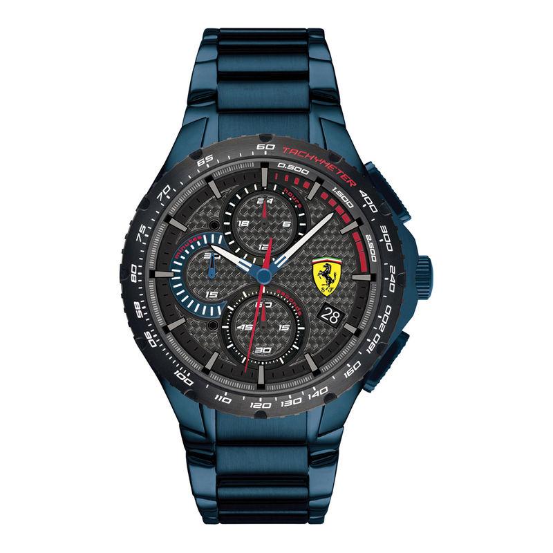Scuderia Ferrari Pista 0830731 Grey Dial Analog Watch For Men