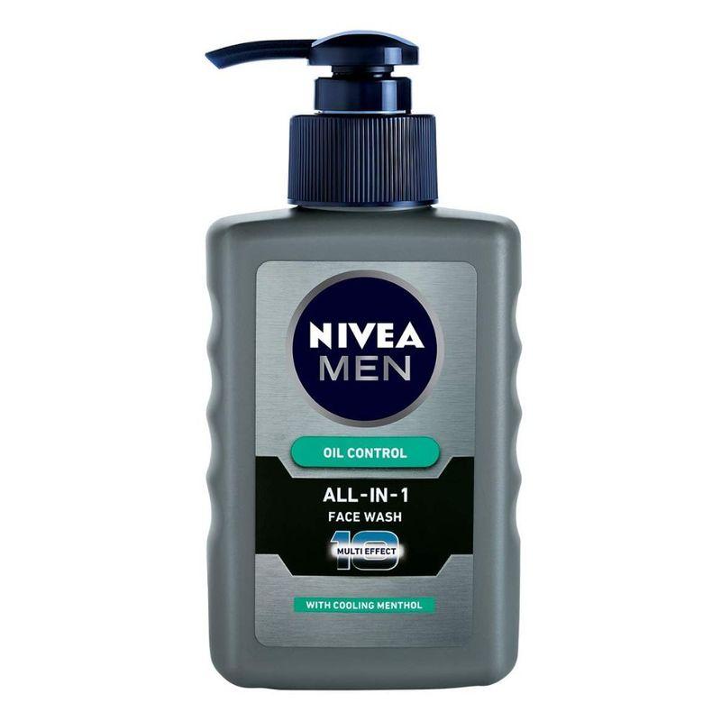 NIVEA Men All-IN-1 Oil Control Face Wash with 10x Multi Effect