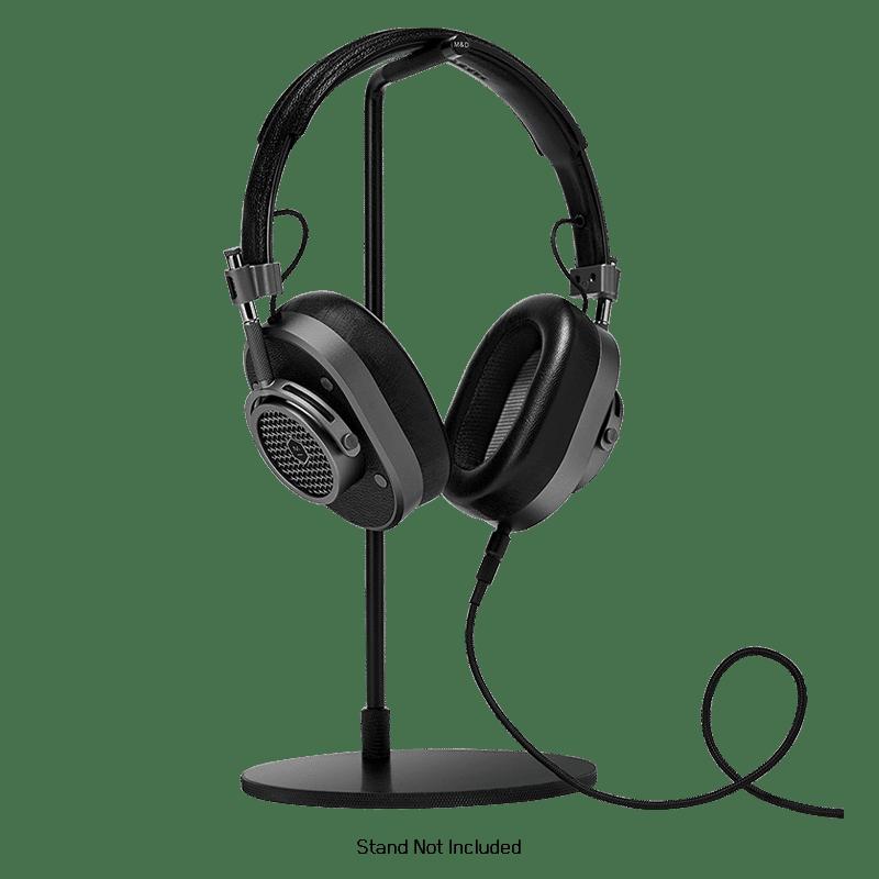 MASTER   DYNAMIC Mh40 Wireless Over Ear Headphones, Black Gunmetal
