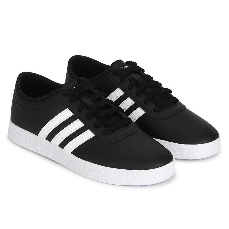adidas Easy Vulc 2.0 Black Skateboarding Shoes - UK 7