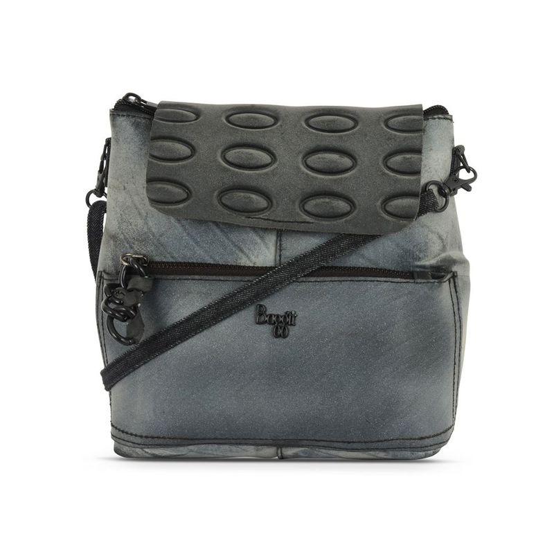 Baggit L Limi Livia Black Solid Backpacks