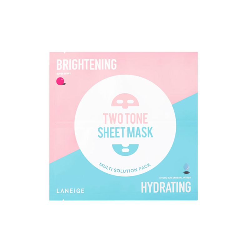 5a9014de17c2 LANEIGE Brightening & Hydrating Two Tone Sheet Mask at Nykaa.com