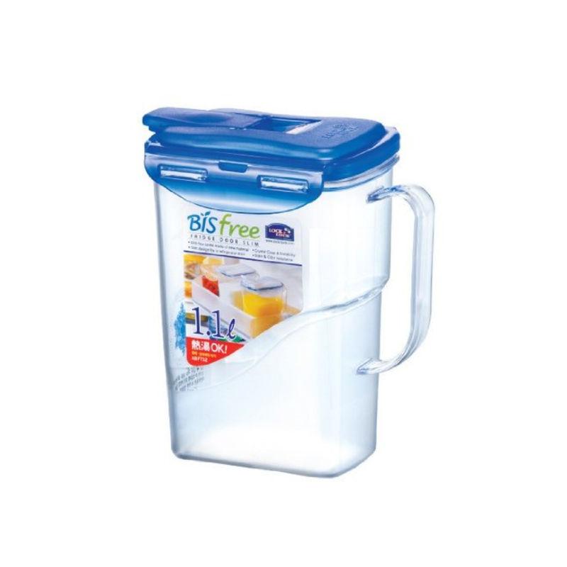 Lock   Lock Plastic Bisfree Water Jug, 1.1 Litres, Transparent