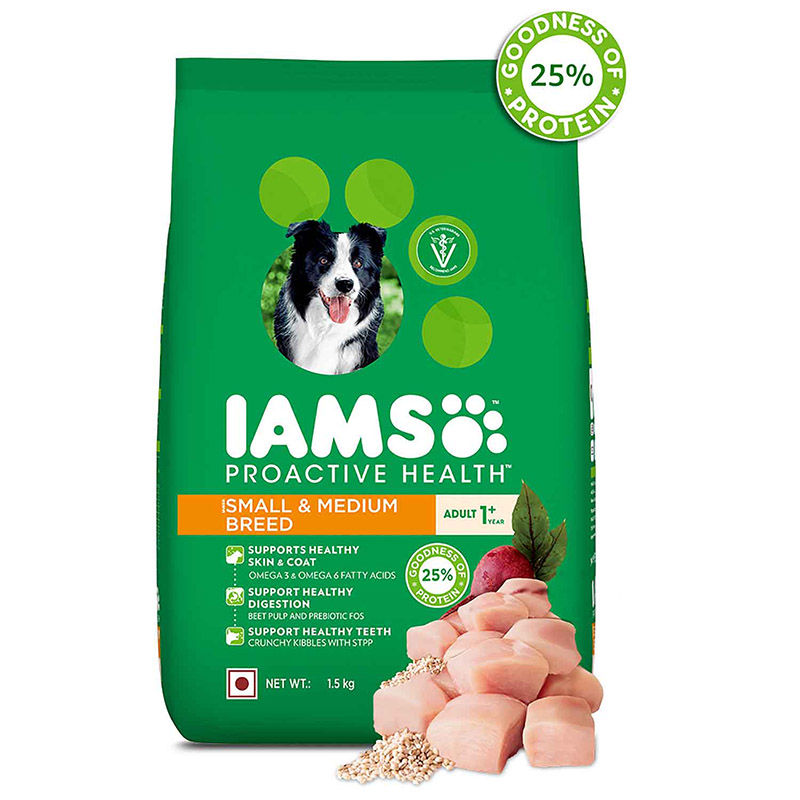 IAMS Proactive Health Adult Small & Medium Breed Dogs (1+ Years) Dry Dog Food