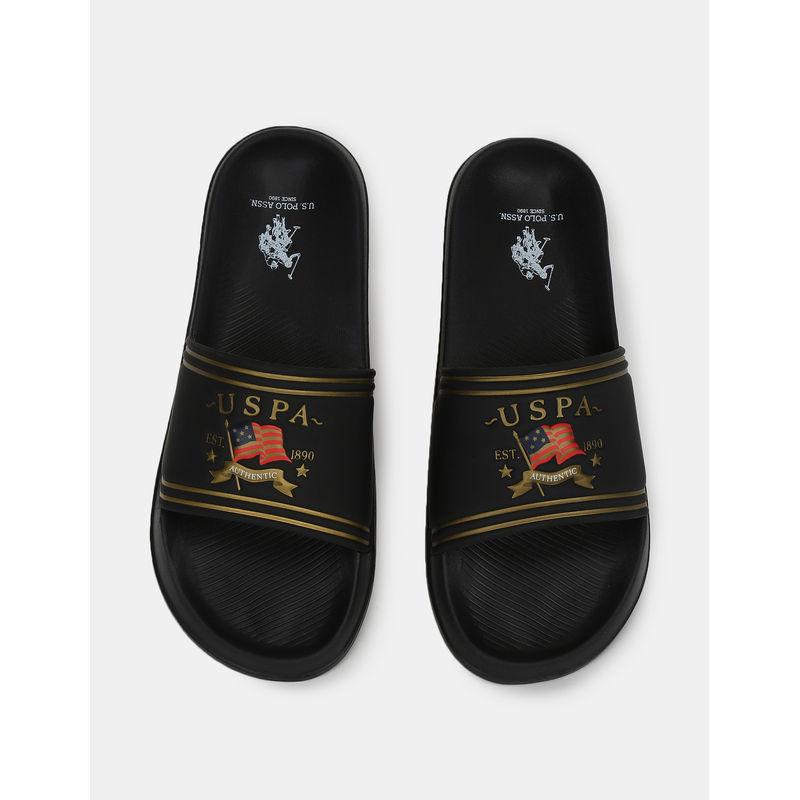 U.s. Polo Assn. Lia Black Sliders(2fd21070z01) - 8