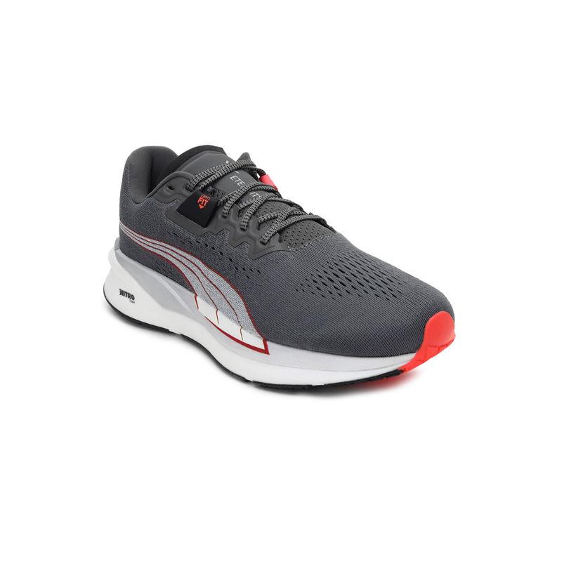 Puma Eternity Nitro Men's Gray Running Shoes - 6
