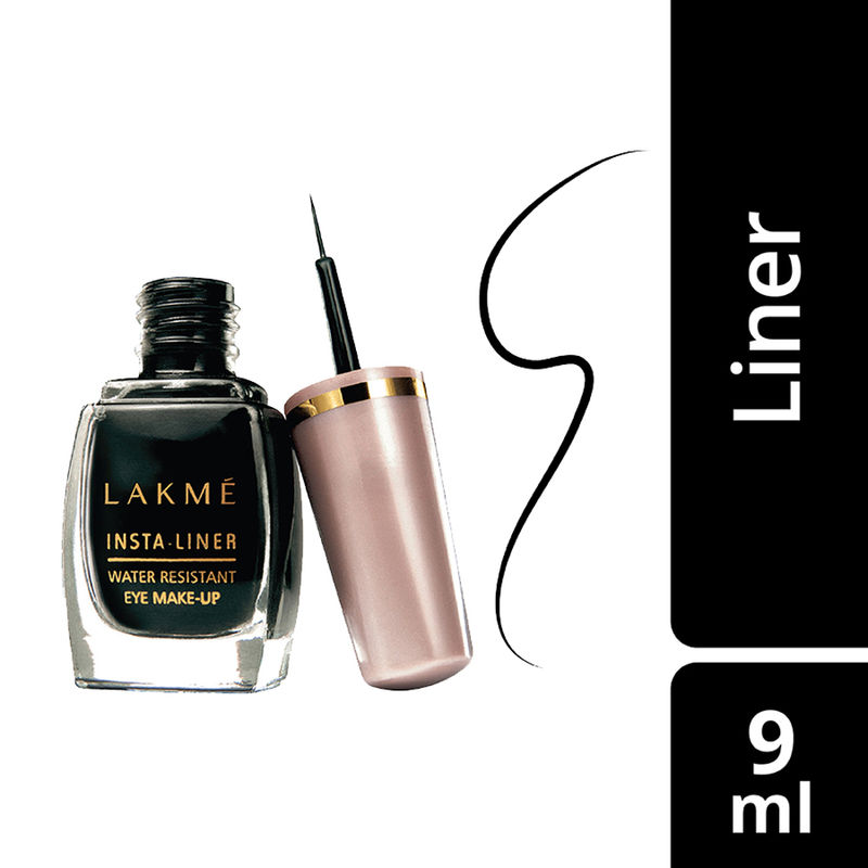 Lakme Insta Eye Liner - Black
