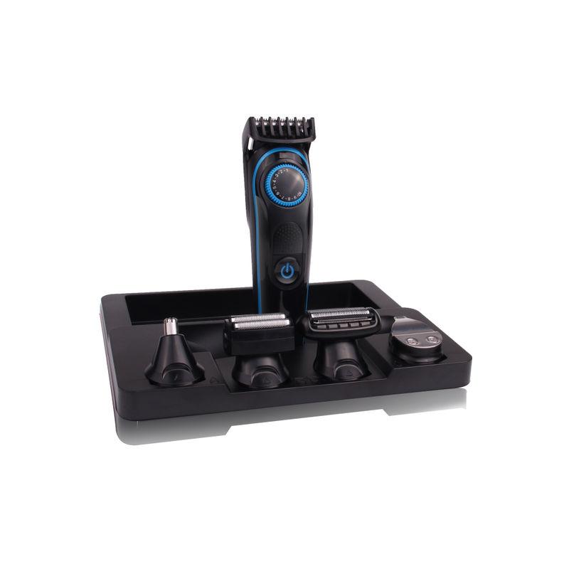 KUBRA KB 5300 5 In 1 Multifunctional Grooming Kit Runtime: 90 Min Trimmer For Men  Black