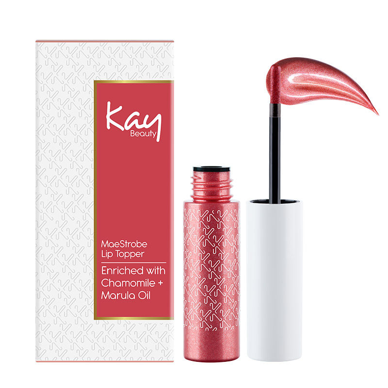 Kay Beauty Metallic Lip Topper - Unbeaten