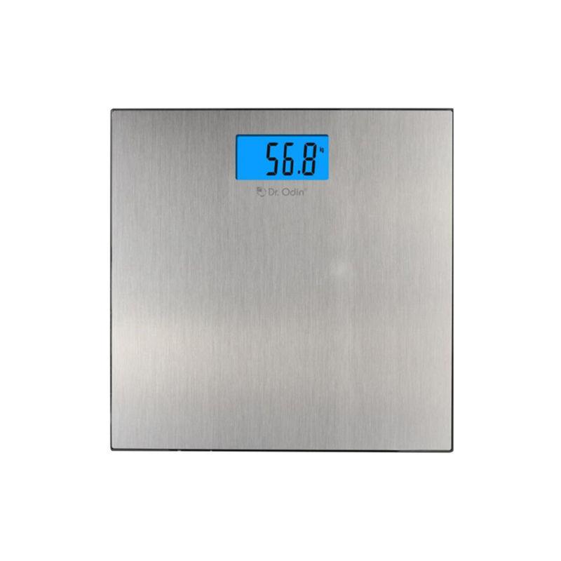 Dr. Odin Digital Personal Bathroom Health Body Weighing Scale   Grey