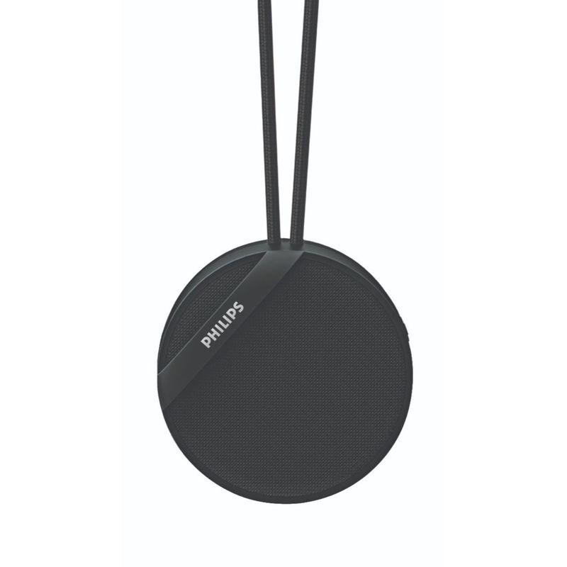 Philips Audio BT40BK Wireless Portable Speakers  Black