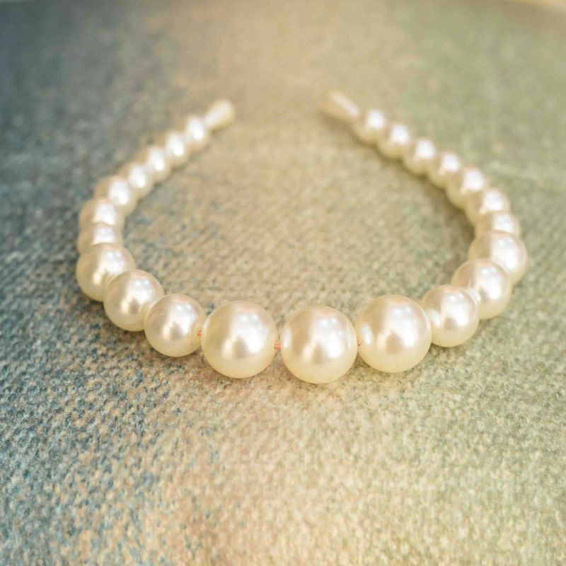 YoungWildFree Mother Of Pearls Cleopatra Hair Band