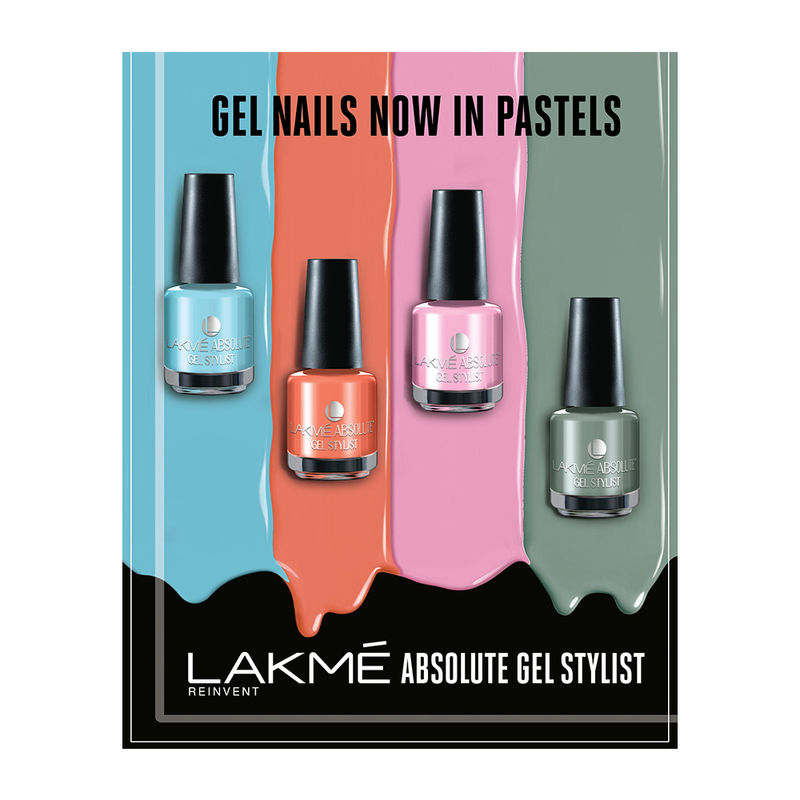 Buy Lakme Absolute Gel Stylist Nail Polish Online In India