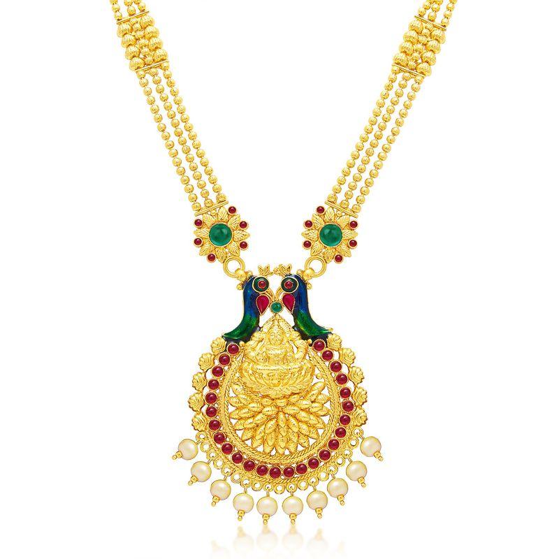 1def5c90091f4 Sukkhi Traditional Gold Plated Kundan Choker Necklace Set