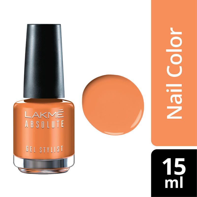 the latest 5af56 4e20c Buy Lakme Absolute Gel Stylist Nail Polish online in India