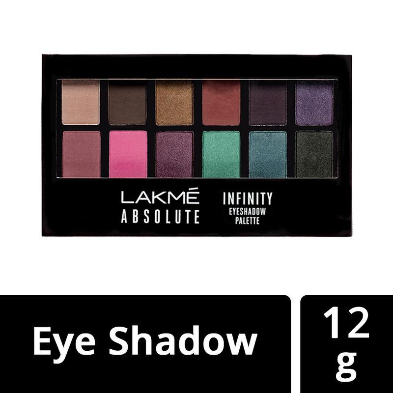 Lakme Absolute Infinity Eye Shadow Palette - Midnight Magic