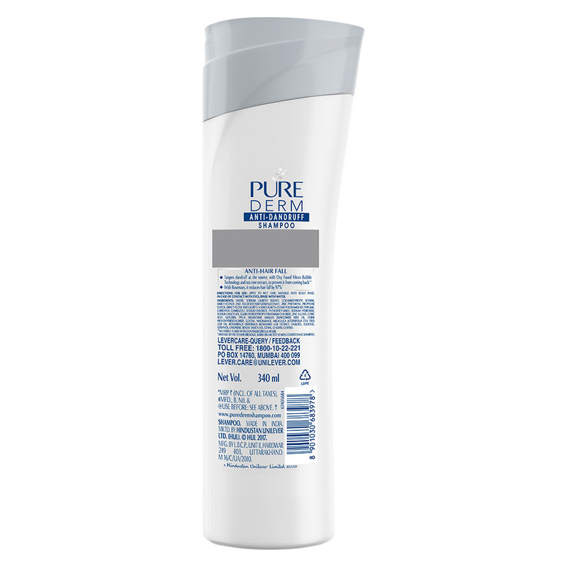 Pure Derm Anti Hairfall Shampoo At Nykaacom