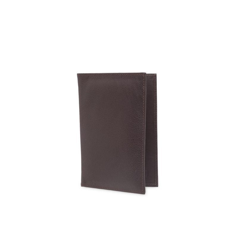 Teakwood Leathers Men Brown Solid Two Fold Genuine Leather Wallet