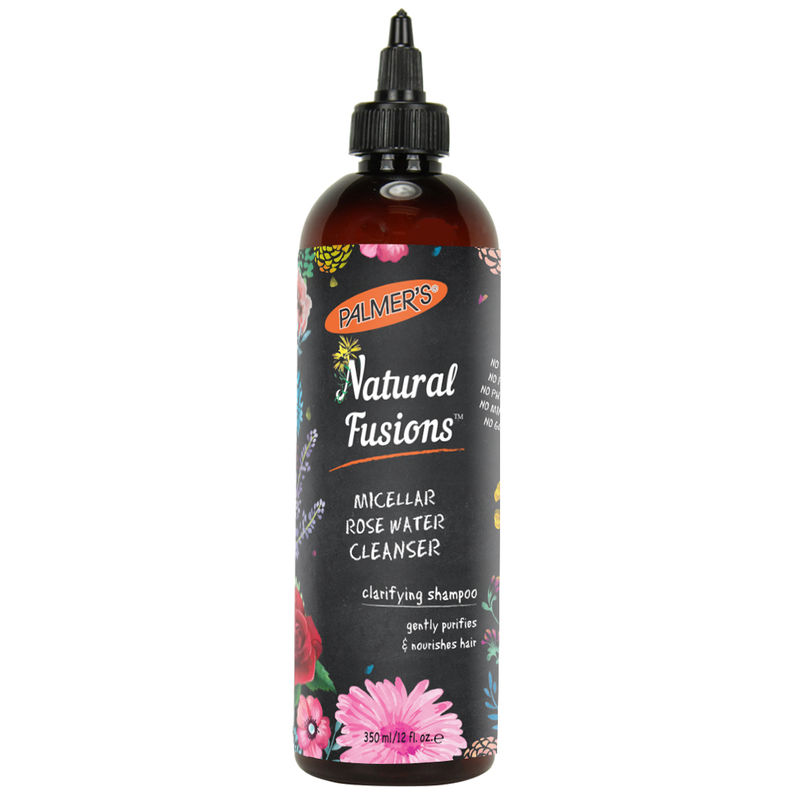 Palmer's Natural Fusions Rose Water Hair Cleanser 350Ml