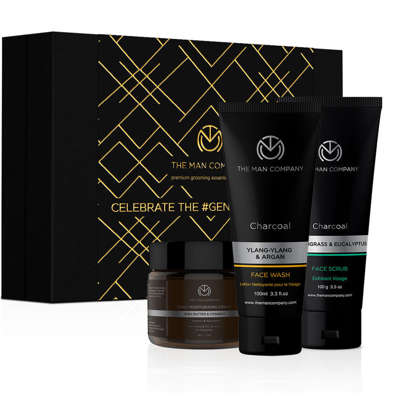 The Man Company Cleanse & Moisturise Pack, Pack of 3