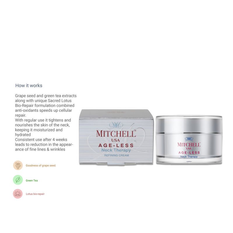 Mitchell USA Age-Less Neck Therapy Refining Cream