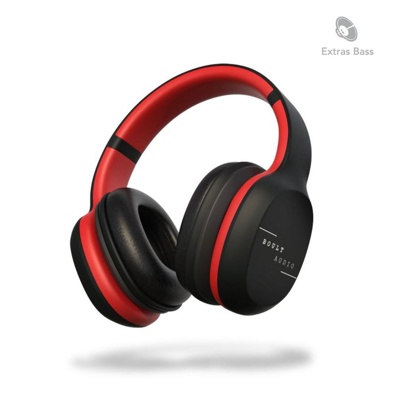 Boult Audio ProBass Thunder Over Ear Wireless Bluetooth Headphones with Mic  Black