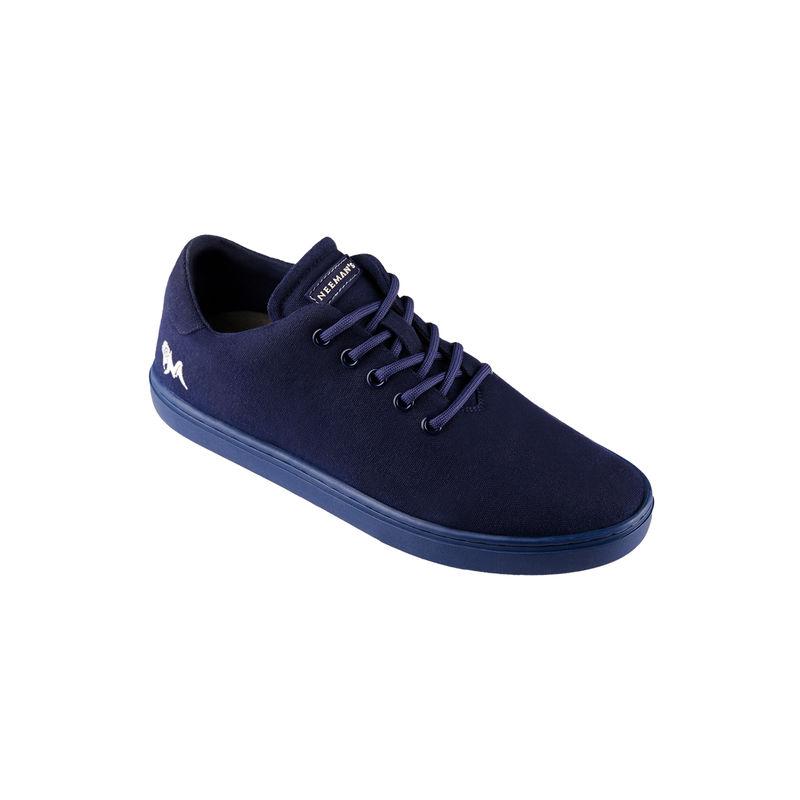 Neemans Cotton Classic Unisex Midnight Blue Sneakers - Uk 4