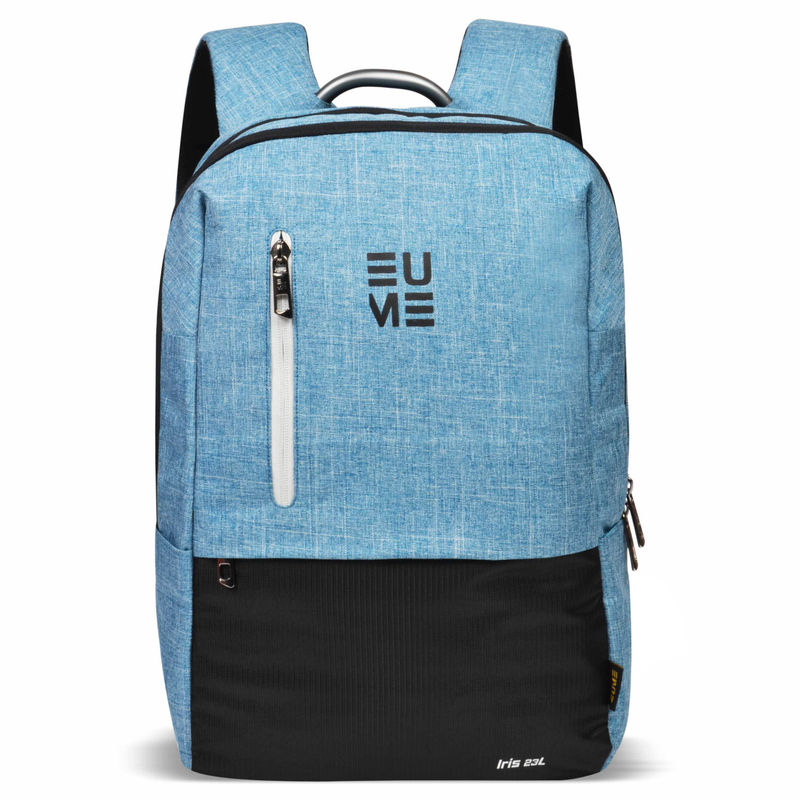 EUME IRIS 23 Ltr Laptop Backpack in Teal Blue