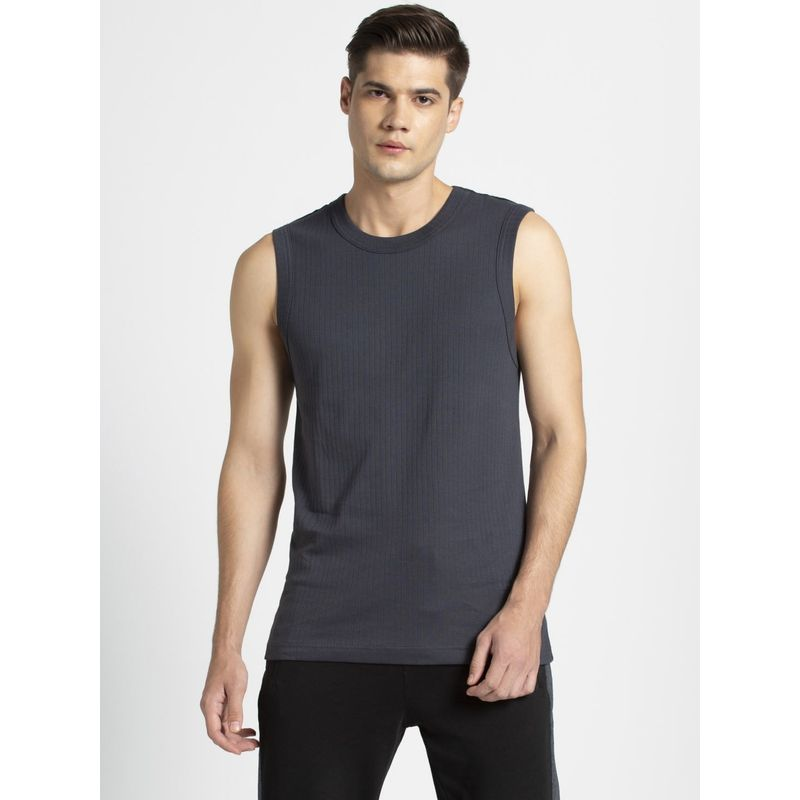 Jockey Graphite Gym Vest - Style Number- 9930 (S)