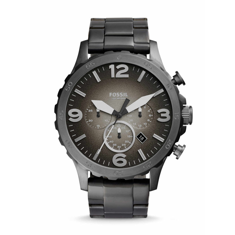 Fossil JR1437 Nate Grey Watch For Men