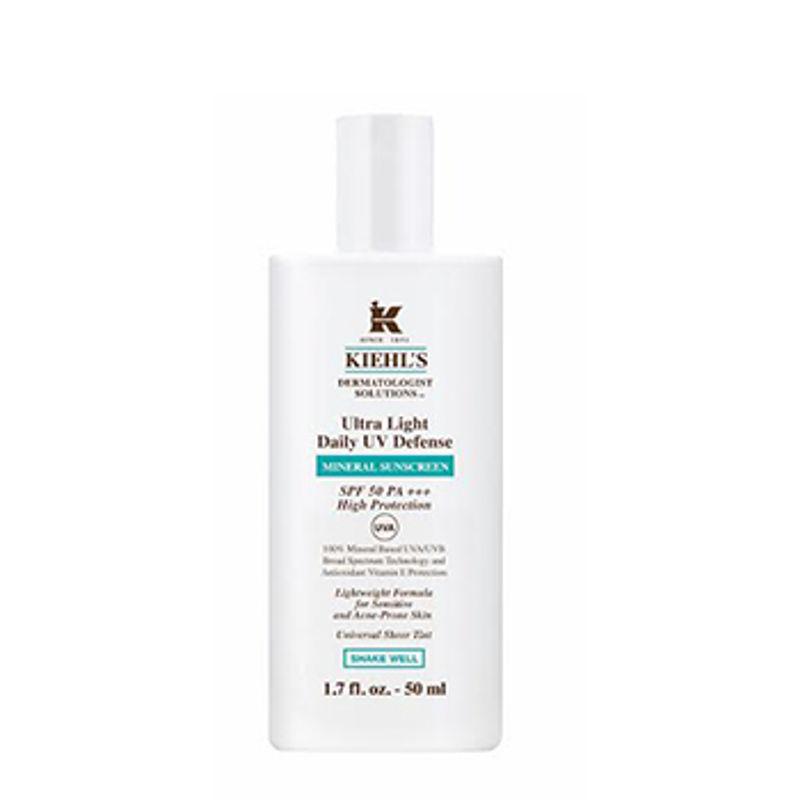 Kiehl's Ultra Light Daily UV Defense Mineral Sunscreen SPF 50 PA+++