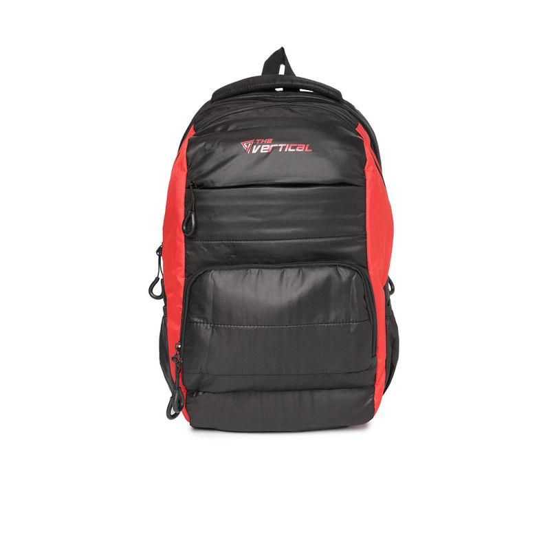 The Vertical Jett Laptop Backpack Black