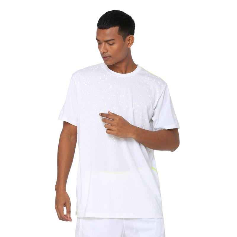 Puma Reflective Tech T-shirt - White (L)