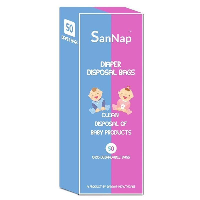 SanNap Baby Diaper Disposal Bags  Pack of 50