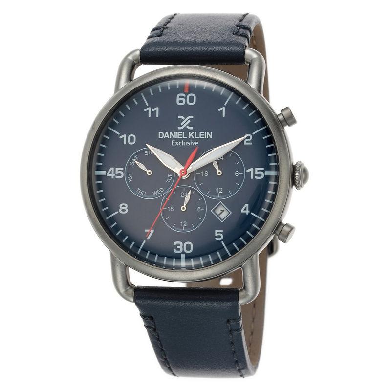 Daniel Klein Analog Blue Dial Men's Watch  DK.1.12479 7
