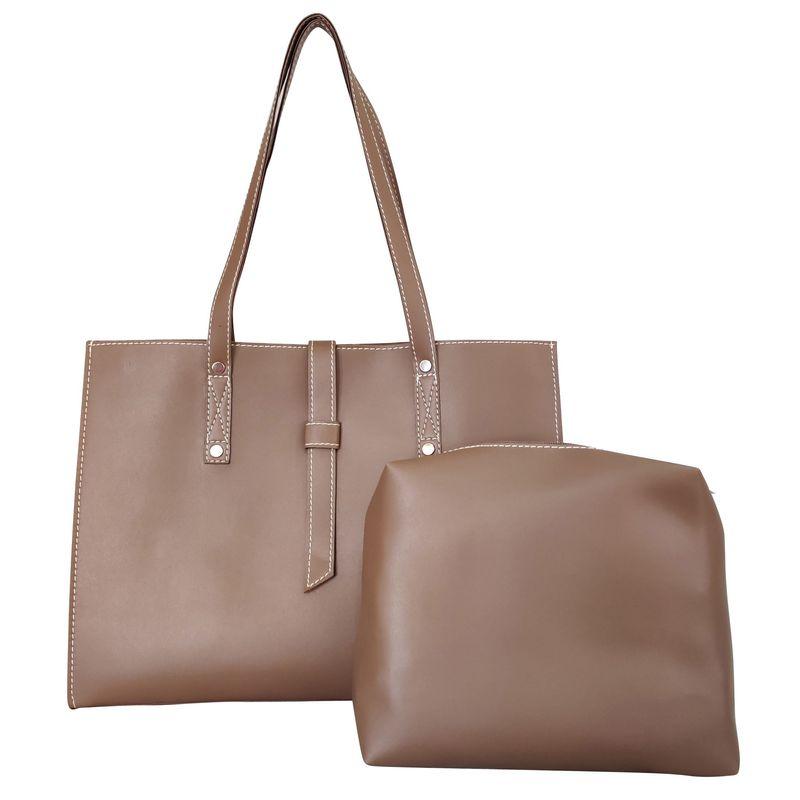 Toteteca Unlined Shoulder Bag