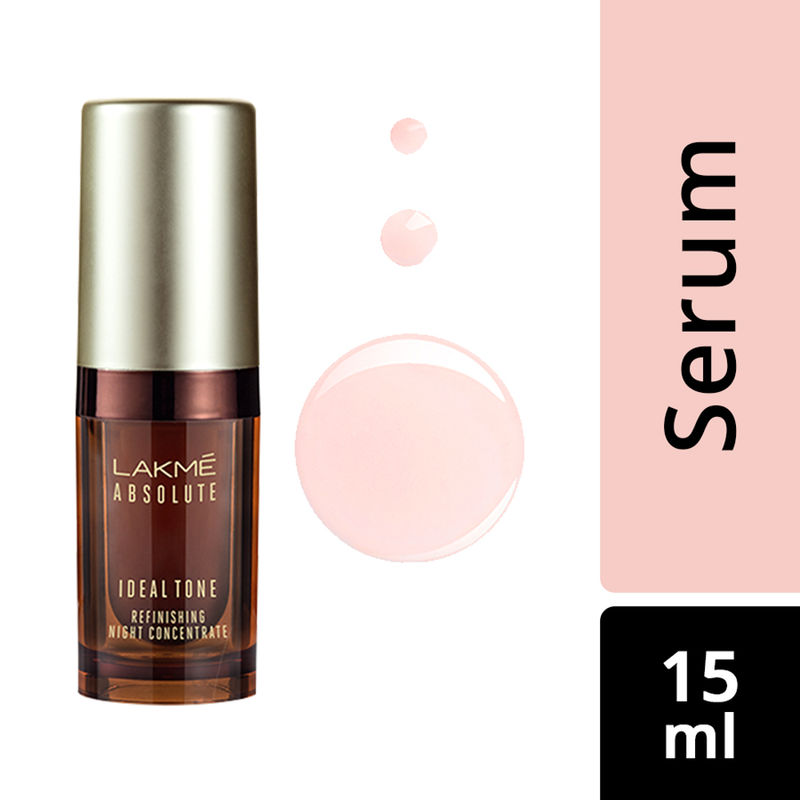 Lakme Absolute Ideal Tone Refinishing Night Concentrate(15ml)
