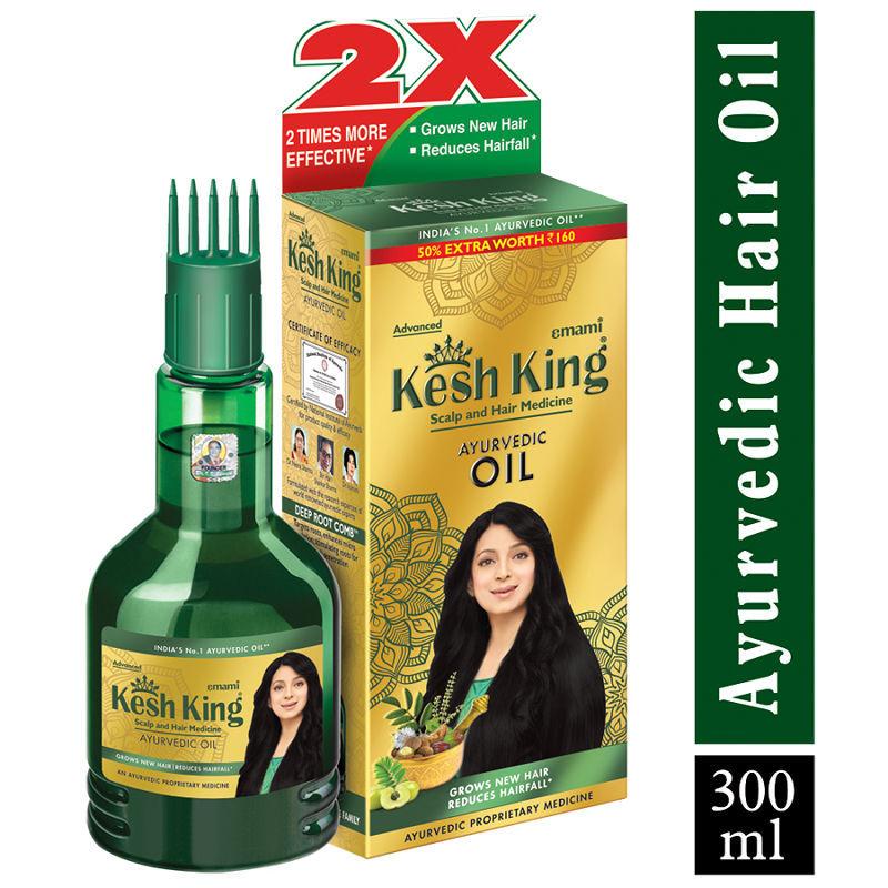 Kesh King Scalp & Hair Medicine - Ayurvedic Medicinal Oil