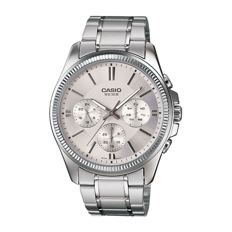 Casio A837 Enticer Men  MTP 1375D 7AVDF  Analog Watch For Men