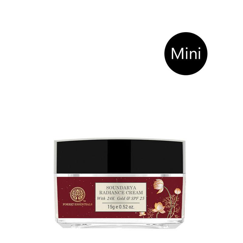 Forest Essentials Soundarya Radiance Cream With 24K Gold SPF25