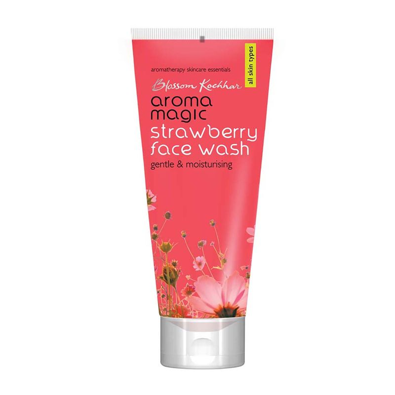 Aroma Magic Strawberry Face Wash Gentle   Moisturising For All Skin Types